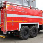 Пожарная автоцистерна АЦ 6,0 – 40 (43118) на шасси КАМАЗ