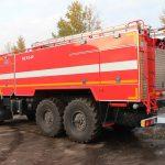 Пожарная автоцистерна АЦ 9,0-40 (43118) объем бака для пенообразования 560 л.