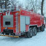 Пожарная цистерна с объемом цистерны 10000 л.