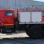ТорТехМаш заказ пожарных автоцестерн с лестницей