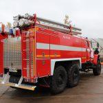 Насосный отсек, и кабина боевого расчета пожарного автомобиля АЦ 6,0 – 60 (5557)С оборудованы системой обогрева
