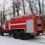 Автоцистерна пожарная АЦ 8,0 – 70 (4320) с объемом цистерны 8000 л.
