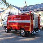 Пожарная автоцистерна АЦ 0,8 (330365) объем цистерны 800 л.
