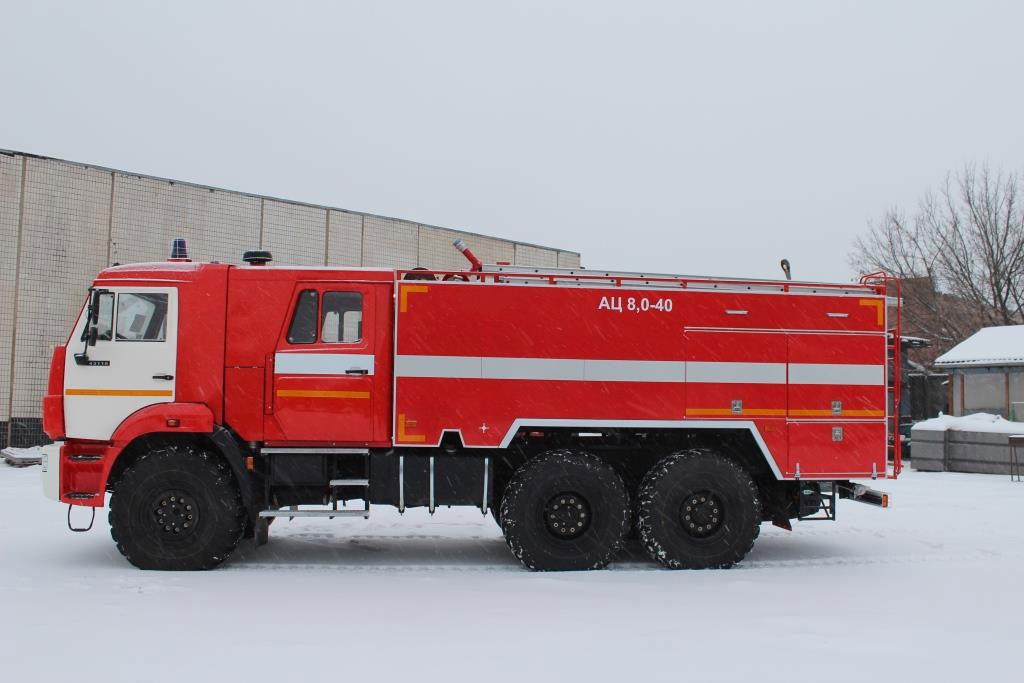 АЦ 8,0-40 (43118) на шасси КАМАЗ