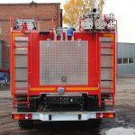 Автоцистерна пожарная АЦ 9,0 – 40 (43118) шасси повышенной проходимости