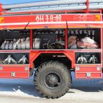 Автоцистерна пожарная АЦ 3,0 – 40 (43206) имеет колесную формулу 4х4
