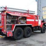Автоцистерна пожарная АЦ 6,0 – 40 (5557) материал цистерны конструкционная или нержавеющая сталь