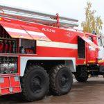 Автоцистерна пожарная АЦ 6,0 – 60 (5557)С объем бака для пенообразователя 360 л.