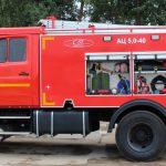Автоцистерна пожарная АЦ 5,0-40 (43253) объем цистерны 5000 л.
