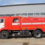 Автоцистерна пожарная АЦ 3,0-40 (43253) объем цистерны 3000 л.