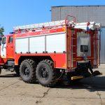 Пожарная автоцистерна боевой расчет 6 человек включая водителя