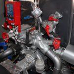 На автоцистерну пожарную устанавливается пожарный одноступенчатый насос нормального давления типа НЦПН-40/100