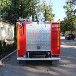 Габаритные размеры пожарной автоцистерны (ДхШхВ) 4800х1940х2295 м.