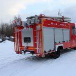Пожарная автоцистерна на шасси Hyundai HD-78