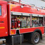 Пожарная автоцистерна АЦ 3,2-40 (4308) объем цистерны 3200 л., объем бака для пенообразователя 200 л.