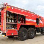 Объем цистерны Автоцистерна пожарная АЦ 6,0 – 60 (43118) 6000 л.
