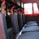 Автоцистерна пожарная кабина боевого расчета цельнометаллическая однообъемная