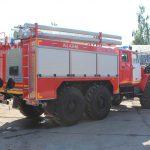 Автоцистерна пожарная АЦ 4,0 – 40 (5557) на шасси повышенной проходимостью