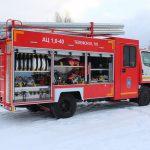 Автоцистерна пожарная АЦ 1,0-40 объем 1000 л.