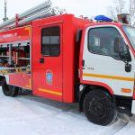 Автоцистерна пожарная АЦ 1,0-40