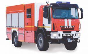 Автоцистерна пожарная АЦ 3,0-40 IVECO