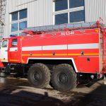 Автоцистерна пожарная АЦ 5,5 – 40 (5557) производство ТорТехМаш