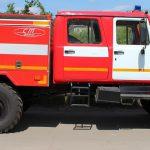 Автоцистерны пожарные лесопатрульные АЦ 1,0-40 (33088) на шасси ГАЗ имеют небольшие габариты и колесную формулу 4х4