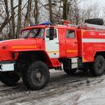 Автоцистерна пожарная АЦ 8,0 – 40 (4320) на шасси УРАЛ