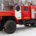 Автоцистерна пожарная АЦ 7,0 – 70 (4320) на шасси УРАЛ