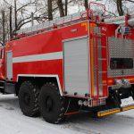 Автоцистерна пожарная АЦ 7,0 – 70 (4320) с объемом бака для пенообразователя 420 л.