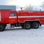 Автоцистерна пожарная АЦ 7,0 – 40 (65115) объем бака для пенообразователя 420 л.