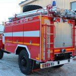 Автоцистерна пожарная АЦ 1,6 -40 (33088)Л объем цистерны 1600 л.