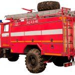 Пожарная автоцистерна от Тортехмаш АЦ 4,0 – 40 (43206)