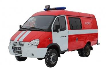 Автомобиль штабной АШ-7 (27057)