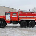 Объем цистерны 5000 л. у автоцистерны пожарной АЦ 5,5 – 40 (5557)С