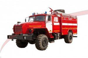 Автоцистерна пожарная АЦ 4,0 – 40 (43206)