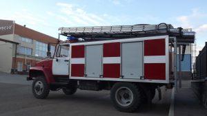 Автоцистерна пожарная АЦ-3,2 на шасси ГАЗ 33086