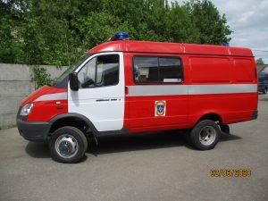 Автомобиль штабной АШ на шасси ГАЗ-27057-000753 «Бизнес»