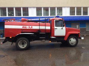 Автоцистерна пожарная  АЦ-3.2 на базе ГАЗ - 33086 (4*4) с   комплектацией ПТВ