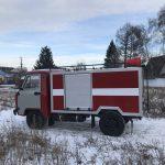 пожарная техника МПК – 0,8 на шасси УАЗ