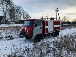 Малый    мобильный пожарный комплекс  МПК – 0,8 на шасси УАЗ - 330365