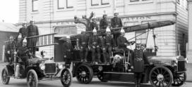 История пожарной службы: первые пожарные машины в России